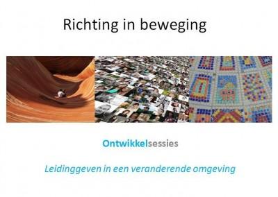 'Richting in beweging': 3 ontwikkelsessies – initiatiefnemer – 2e editie, inschrijving open (najaar 2016)